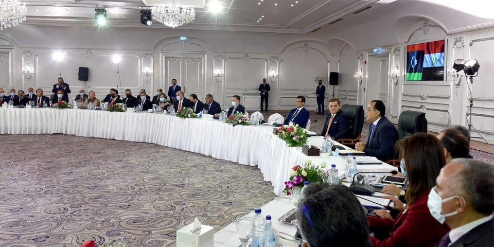 رئيس-مجلس-الوزراء-ونظيره-الليبي-يشهدان-توقيع-عدد-من-مذكرات-التعاون-المشتركة-بين-البلدين