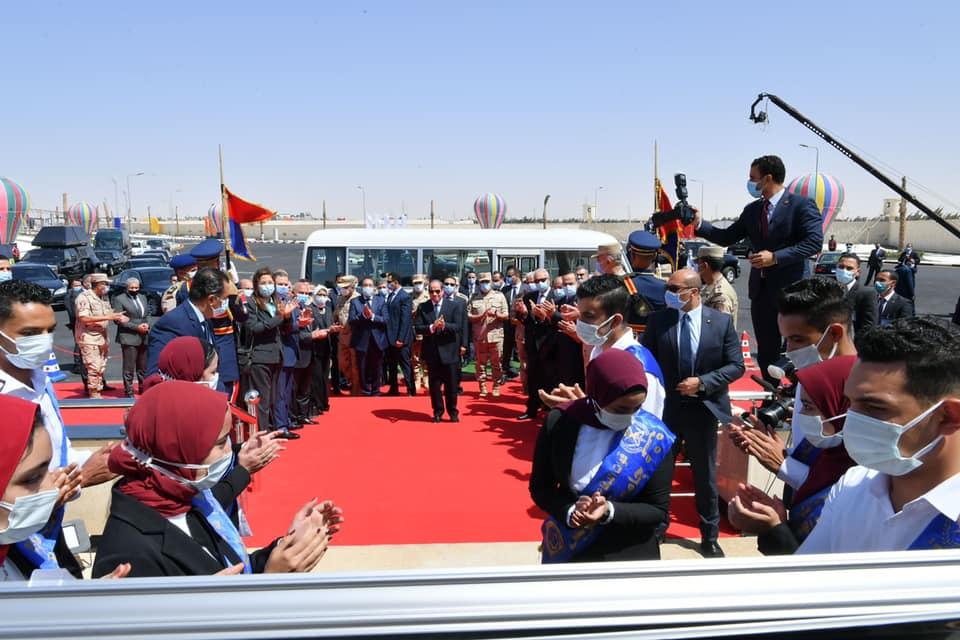 افتتاح-السيد-الرئيس-صباح-اليوم-لعدد-من-المشروعات-الخاصة-بتنمية-شمال-سيناء