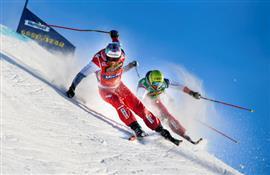 مسابقة التزلج الحر على الجليد في السويد