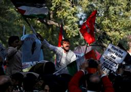 مظاهرات احتجاجية في الهند ضد زيارة نتنياهو