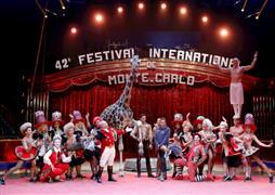 افتتاح سيرك مونت كارلو الدولي السنوي