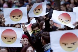 مظاهرات في بودابيست ضد الحكومة