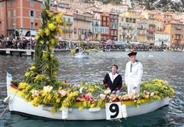 مهرجان الزهور على شواطئ الريفيرا في فرنسا