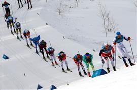 مشاهد من دورة الألعاب الشتوية