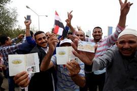 استمرار تصويت المصريين بالخارج في الانتخابات
