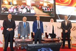 """سلامة وفوزي وعكاشة يفتتحون مؤتمر """"الأهرام"""