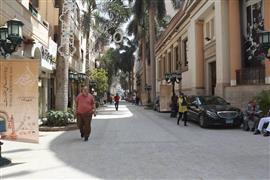 شارع الشريفين بوسط البلد بعد تطويره