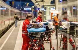 حادث قطار في سالزبورغ بالنمسا