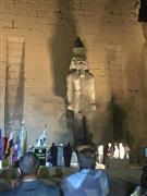 إزاحة الستار عن تمثال الملك رمسيس الثاني