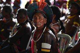 اجتماع للسكان الأصليين في البرازيل بمدينة