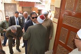 محافظ الغربية يفتتح مسجدا فى طنطا بعد