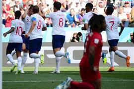 إنجلترا تكتسح بنما بسداسية وحسم تأهلها