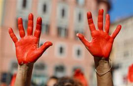 مظاهرات احتجاجية ضد وزير الداخلية الإيطا...