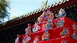 """استمرار احتفالات """"مهرجان القمر"""" في الصين"""