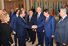 زيارة الرئيس السيسي للمجلس الفيدرالية الروسي