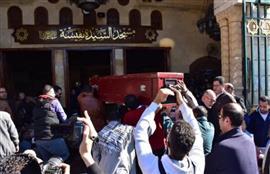 جنازة الفنان حسن كامي من مسجد السيدة نفيسة