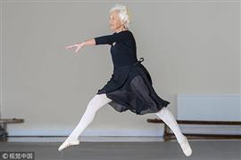 أقدم راقصة باليه في المملكة المتحدة