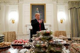 عيد للوجبات السريعة في البيت الأبيض