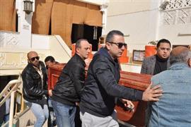 تشييع جنازة الفنان سعيد عبدالغني من