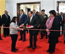 الرئيس السيسي يفتتح معرض القاهرة الدولي