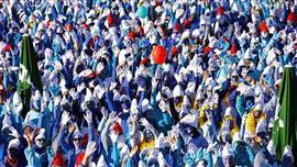 """الآلاف من """"السنافر"""" يجتمعون في ألمانيا"""