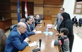 محافظ البحيرة يلتقى 33 مواطنا ويوجه بحل ...