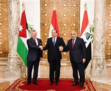 الرئيس السيسي يستقبل العاهل الأردني