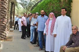 مشاركة المصريين في السعودية في الاستفتاء
