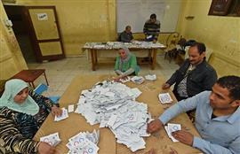 عمليات الفرز في الاستفتاء على التعديلات
