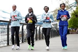 ماراثون لندن للجري