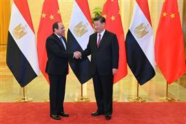 لقاء الرئيس السيسي بنظيره الصيني شي