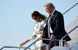 دونالد ترامب يصل طوكيو في زيارة رسمية