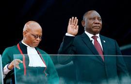 مراسم تنصيب رئيس جنوب إفريقيا المنتخب