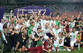منتخب الجزائر يتوج بطلا لكأس الأمم الإفريقية