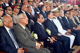الرئيس السيسي يشهد حفل تخرج دفعة جديدة