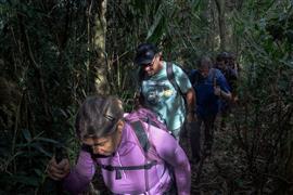 رحالة لاتينيون يقطعون مسافة ٨ آلاف كيلومتر