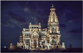 قصر البارون.. تحفة معمارية جار ترميمها