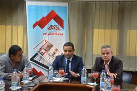 ندوة رئيس لجنة الحكام الجديد سمير محمود