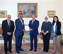 الرئيس عبدالفتاح السيسي يستقبل مدير
