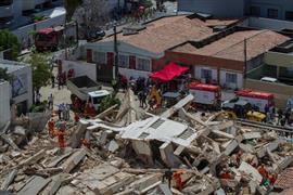 انهيار مبنى سكني في البرازيل