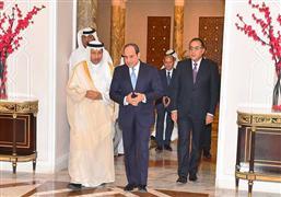 الرئيس السيسي يستقبل رئيس مجلس الوزراء