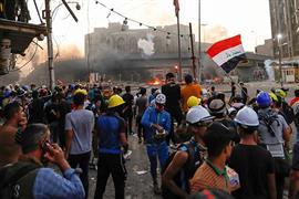 استمرار المظاهرات في شوارع العراق