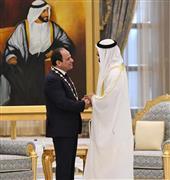 مباحاثات الرئيس السيسى ومحمد بن زايد