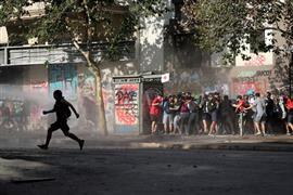 تواصل الاحتجاجات في شوارع تشيلي