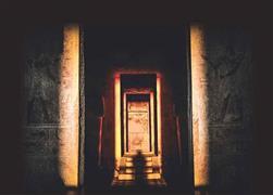 تعامد الشمس علي معبد الدير البحري بالأقصر