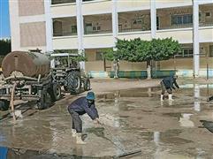 أمطار غزيرة على القاهرة والمحافظات