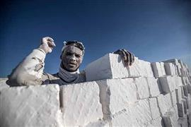 محجر الجبل الأبيض شرق نهر النيل بالمنيا
