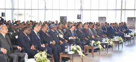 نشاط الرئيس السيسي باليوم الثاني لمنتدى