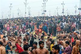 مهرجان ماكار سانكرانتي في الهند