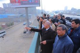 وزير النقل يتابع أعمال التطوير والصيانة